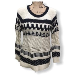 {AEO} Chunky Knit Wool Pullover Sweater